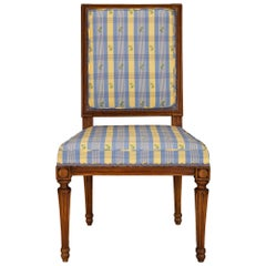 French 19th Century Louis XVI St. Beechwood Chair