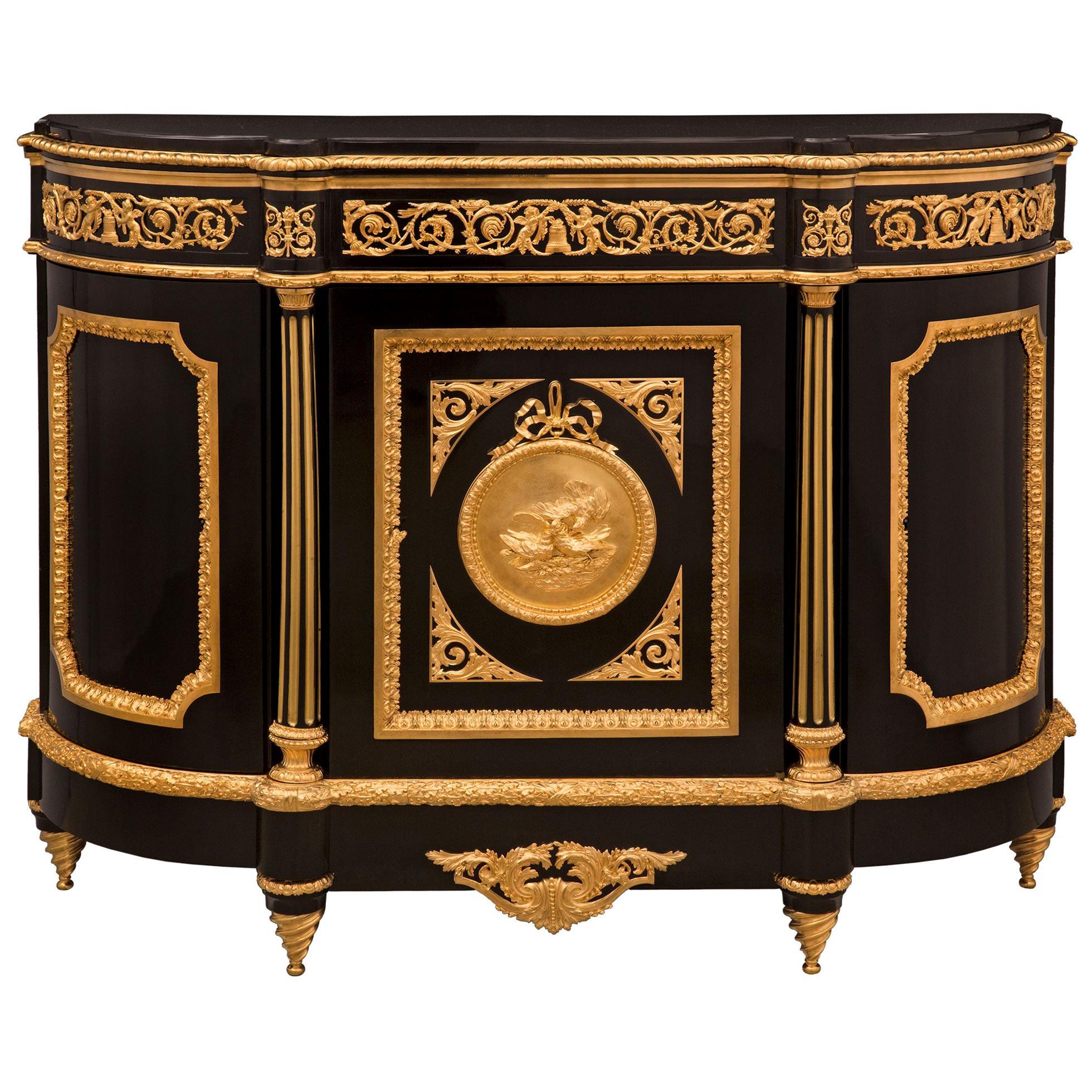 French 19th Century Louis XVI St. Belle Époque Period Buffet