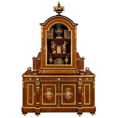 French 19th Century Louis XVI Style Belle Époque Period Cabinet by Grohé
