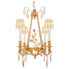 French 19th Century Louis XVI Style Belle Époque Period Chandelier