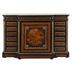 French 19th Century Louis XVI St. Cabinet by Guillaume Grohé