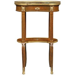French 19th Century Louis XVI Style circa 1880 Side Table