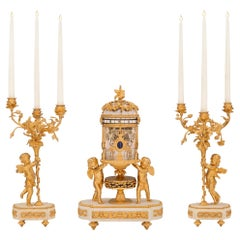 Belle Époque Candle Holders