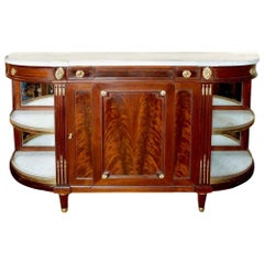 French 19th Century Louis XVI Style Mahogany Buffet
