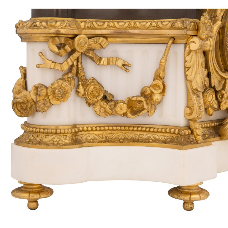 French 19th Century Louis XVI Style Three-Piece Garniture Set For Sale 2