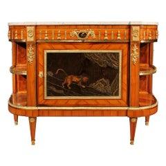 French 19th Century Louis XVI St. Tulipwood Buffet