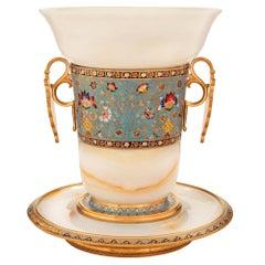 French 19th Century Louis XVI Style Belle Époque Period Vase