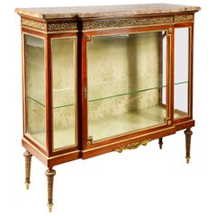 French 19th Century Louis XVI Style Display Cabinet