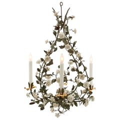 French 19th Century Louis XVI Style Four-Arm Chandelier