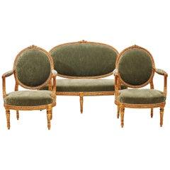 French 19th Century Louis XVI Style Furniture Set