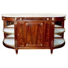 French 19th Century Louis XVI Style Mahogany Buffet