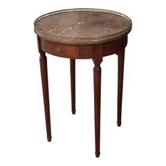 French 19th Century Louis XVI-Style Mahogany Gueridon Table