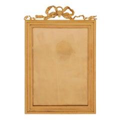 French 19th Century Louis XVI Style Ormolu Frame