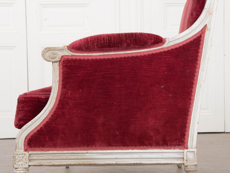 French 19th Century Louis XVI-Style Settee For Sale 1