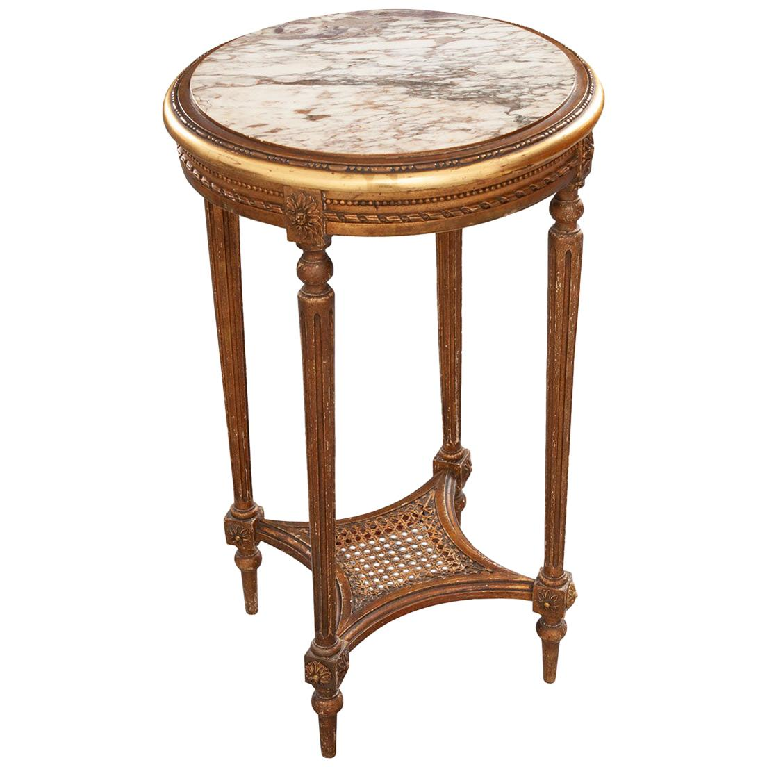 French 19th Century Louis XVI Style Side Table
