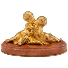 French 19th Century Louis XVI Style Small Scale Statue/Paperweight