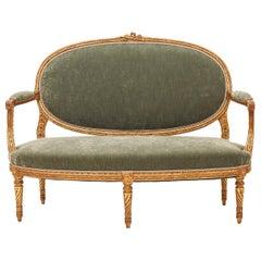 French 19th Century Louis XVI Style Sofa
