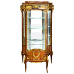 French 19th Century Louis XVI Style Vitrine, after Linke