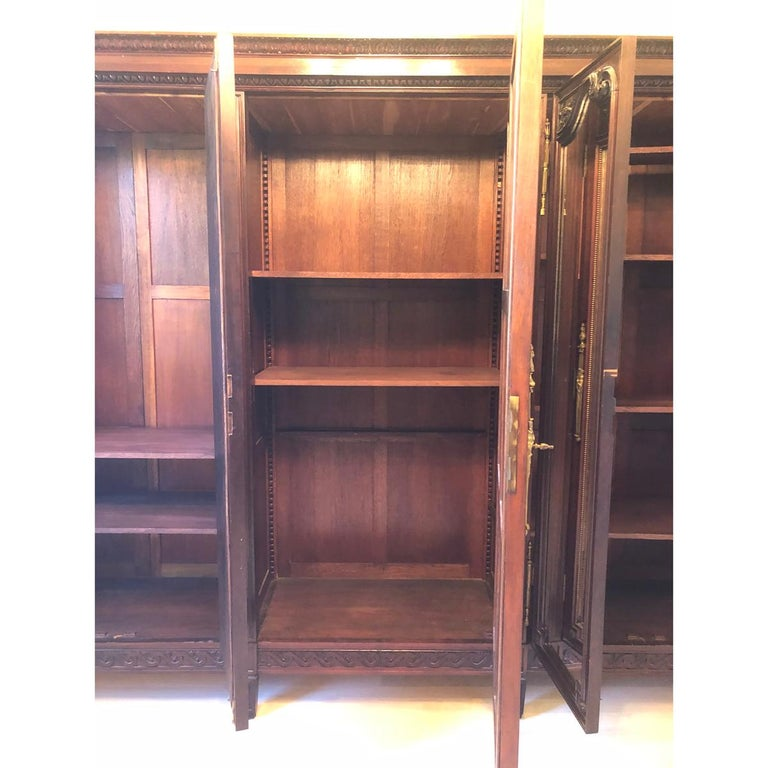 Other French 19th Century Mahogany Armoire For Sale