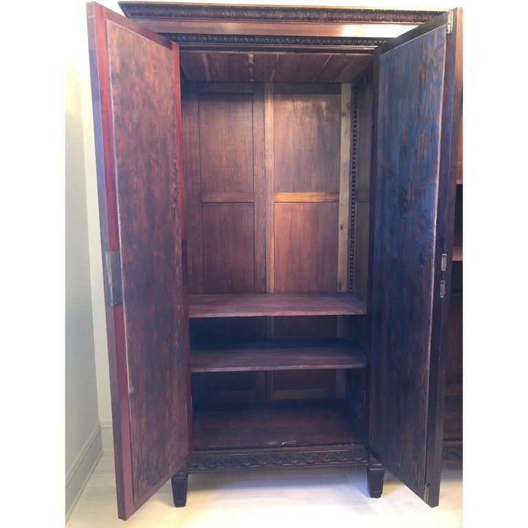 French 19th Century Mahogany Armoire For Sale 1