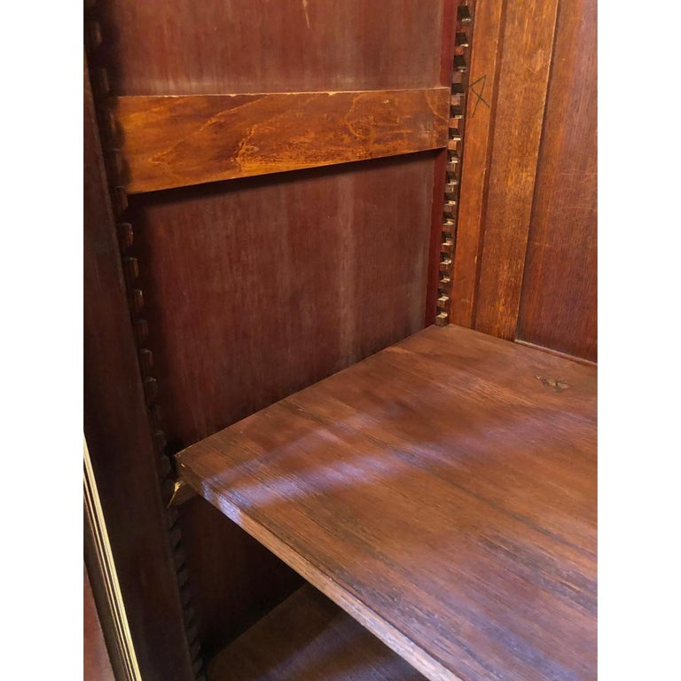 French 19th Century Mahogany Armoire For Sale 2