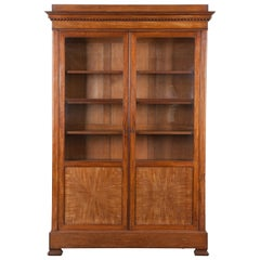 French 19th Century Mahogany Bibliothèque