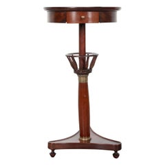 French 19th Century Mahogany Empire-Style Table