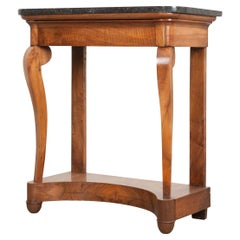 French 19th Century Mahogany Restauration Style Console