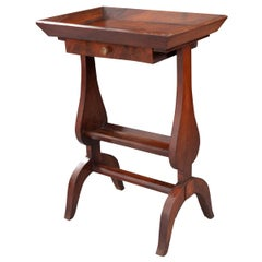 French 19th Century Mahogany Side Table