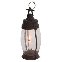 French, 19th Century Metal Lantern