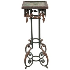 French 19th Century Metal Plant Stand