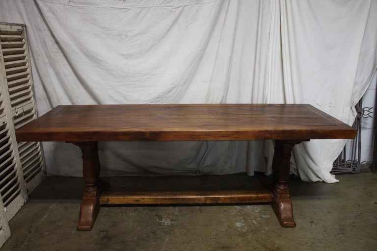 French 19th Century Monastery Table For Sale 7