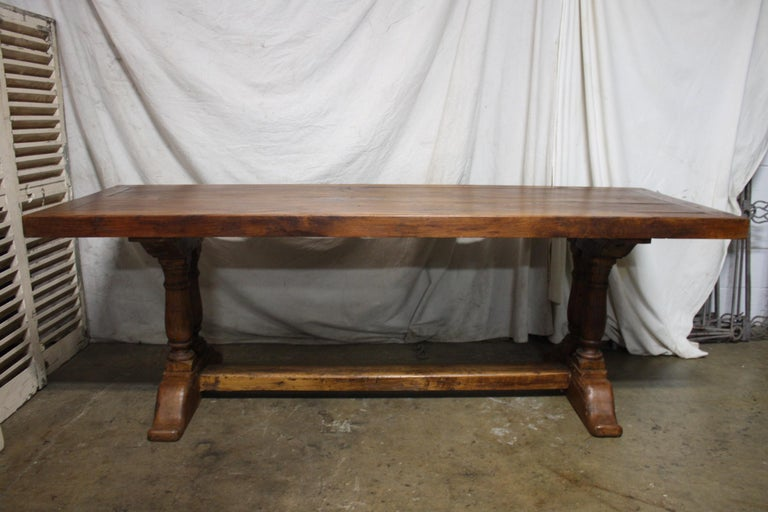French 19th Century Monastery Table For Sale 8