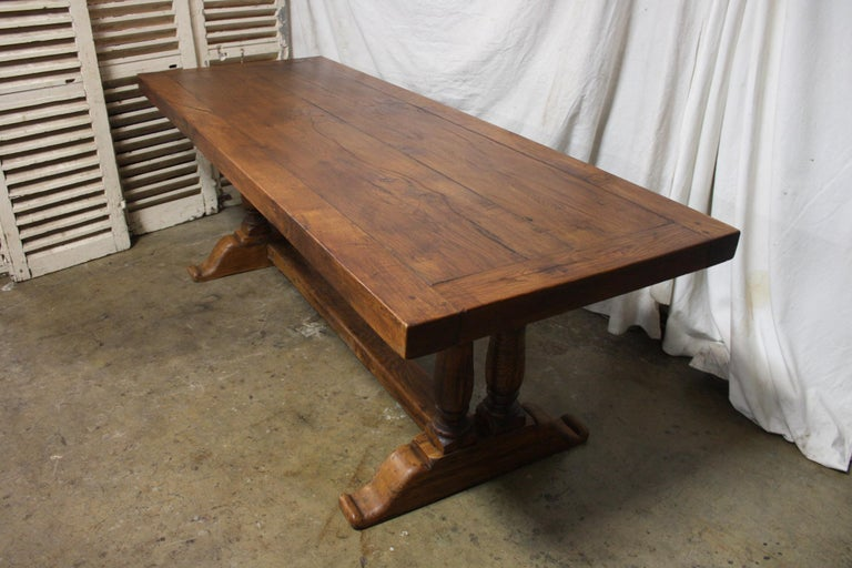 French 19th Century Monastery Table In Good Condition For Sale In Atlanta, GA