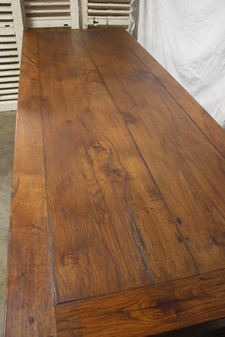 French 19th Century Monastery Table For Sale 1