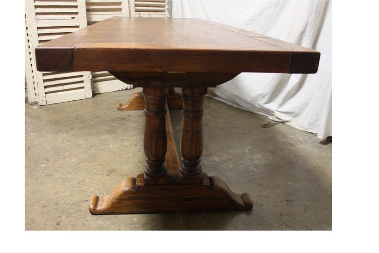 French 19th Century Monastery Table For Sale 2