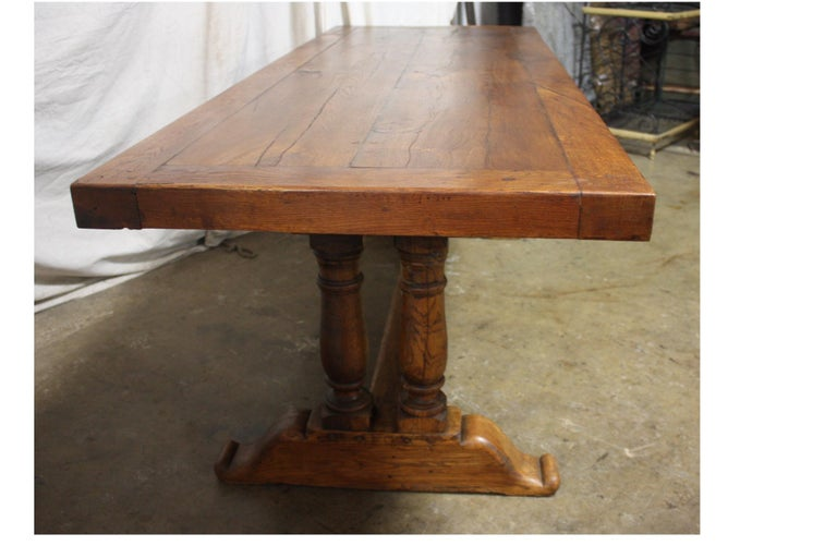 French 19th Century Monastery Table For Sale 3