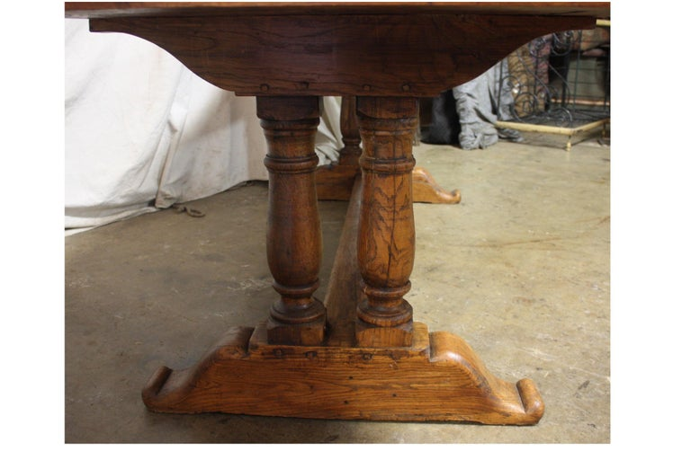 French 19th Century Monastery Table For Sale 4