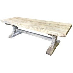 French 19th Century Monastery Table