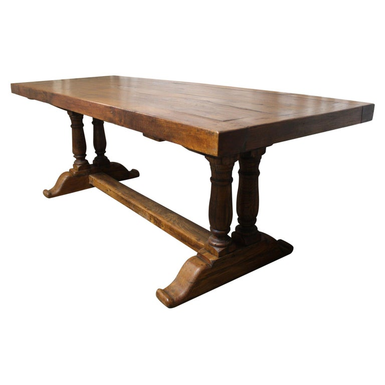 French 19th Century Monastery Table For Sale