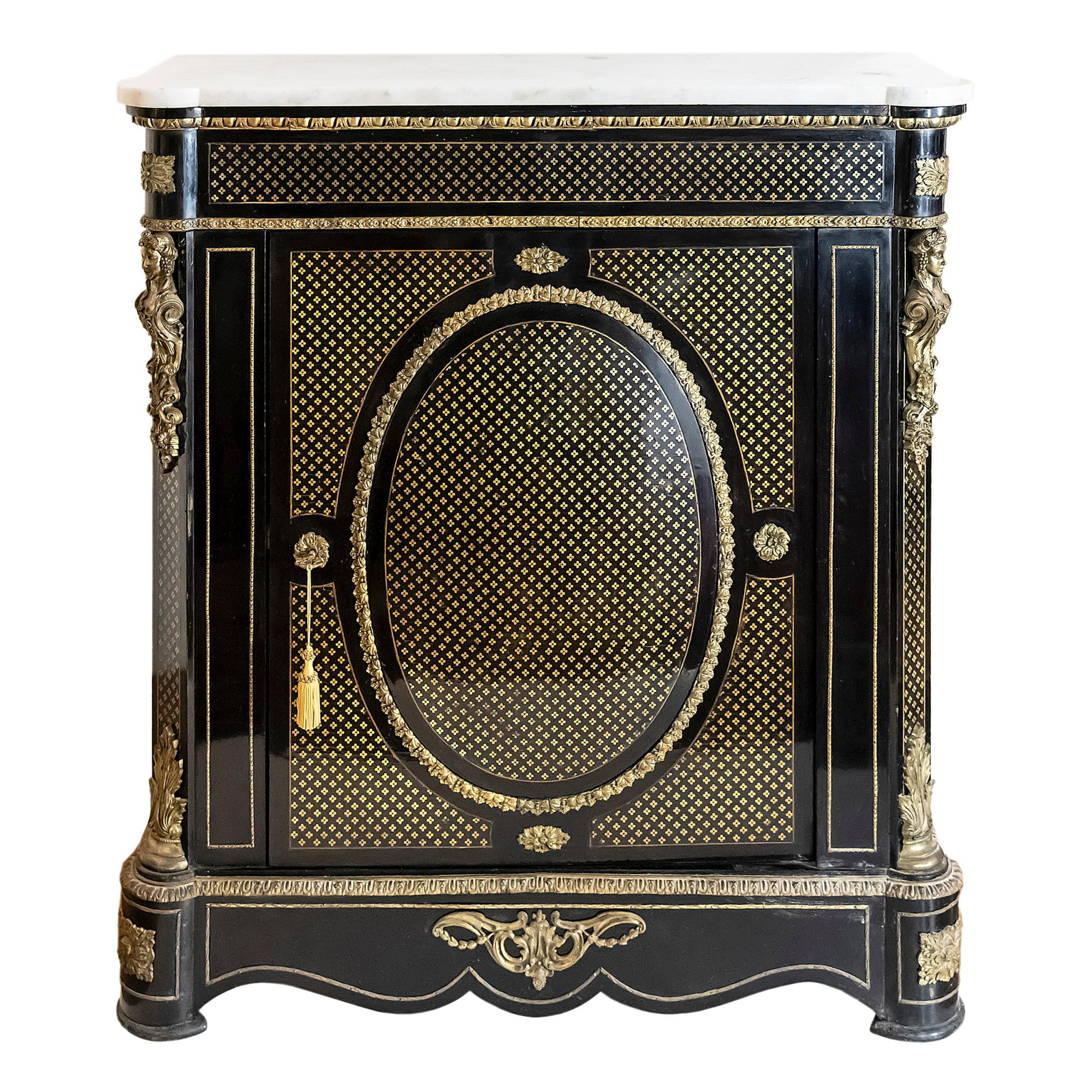 French 19th Century Napoleon III Cabinet