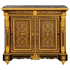 French 19th Century Napoleon III Period Two-Door Cabinet
