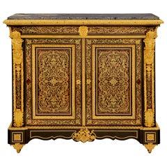 French 19th Century Napoleon III Period Two-Door Cabinet