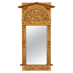 French 19th Century Neoclassical Style Giltwood Mirror