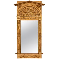 French 19th Century Neoclassical Giltwood Mirror