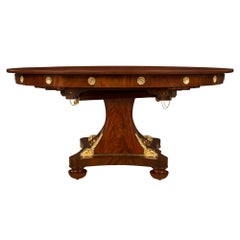 French 19th Century Neoclassical St. Dining Table, Once Owned by Gianni Versace