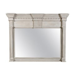 French 19th Century Neoclassical Style Architectural Element Made into a Mirror