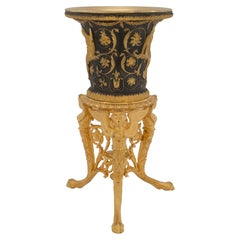 French 19th Century Neoclassical Style Bronze and Ormolu Urn