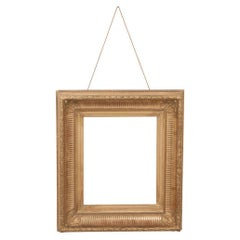 French 19th Century Neoclassical-Style Giltwood Exhibition Frame