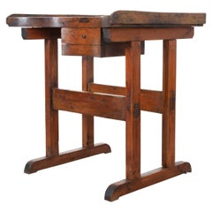 French 19th Century Oak Artist's Standing Desk